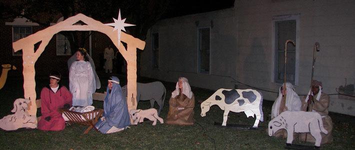 Celebrating the Christmas Season at Algiers United Methodist Church