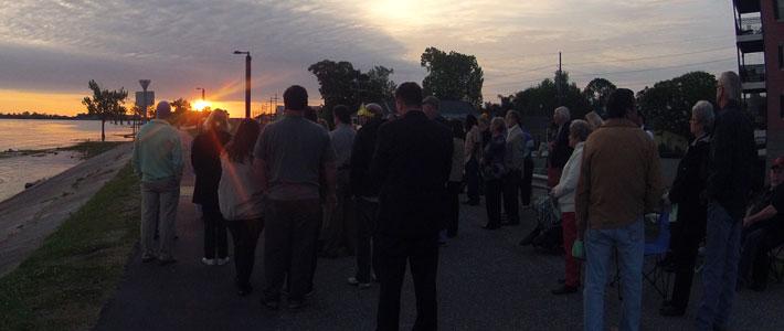 Sunrise Service, 2016