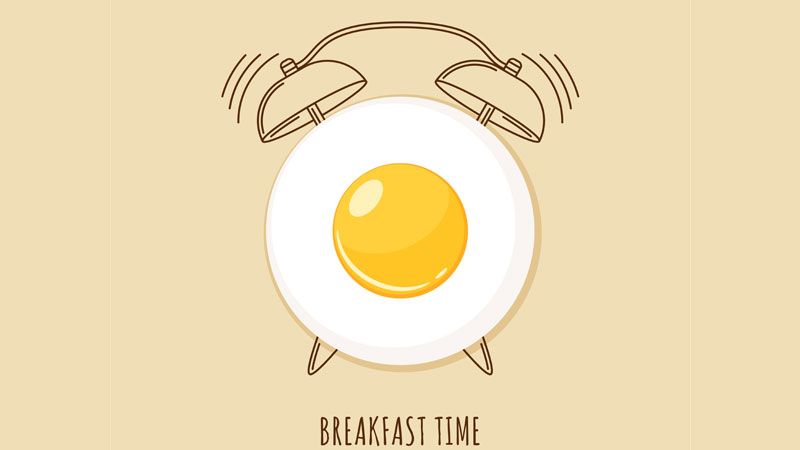 Breakfast-Clock