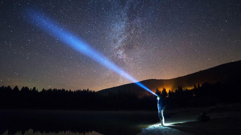 Headlamp-to-the-stars