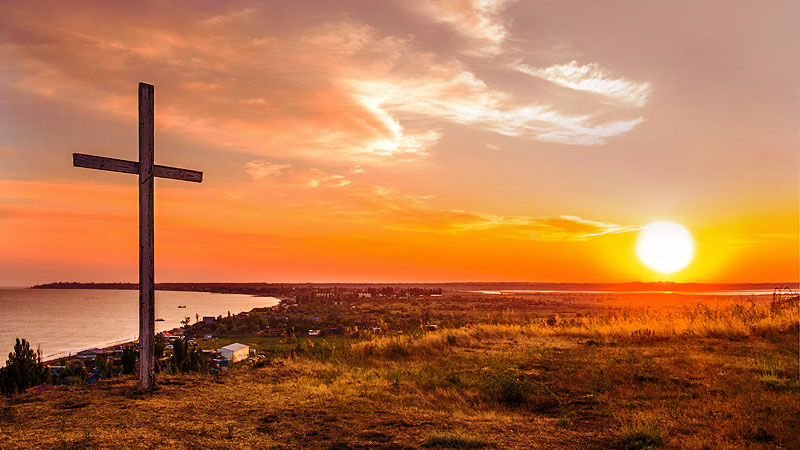 Cross-and-Sunset