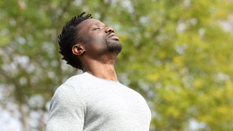 Man-breathing-deeply